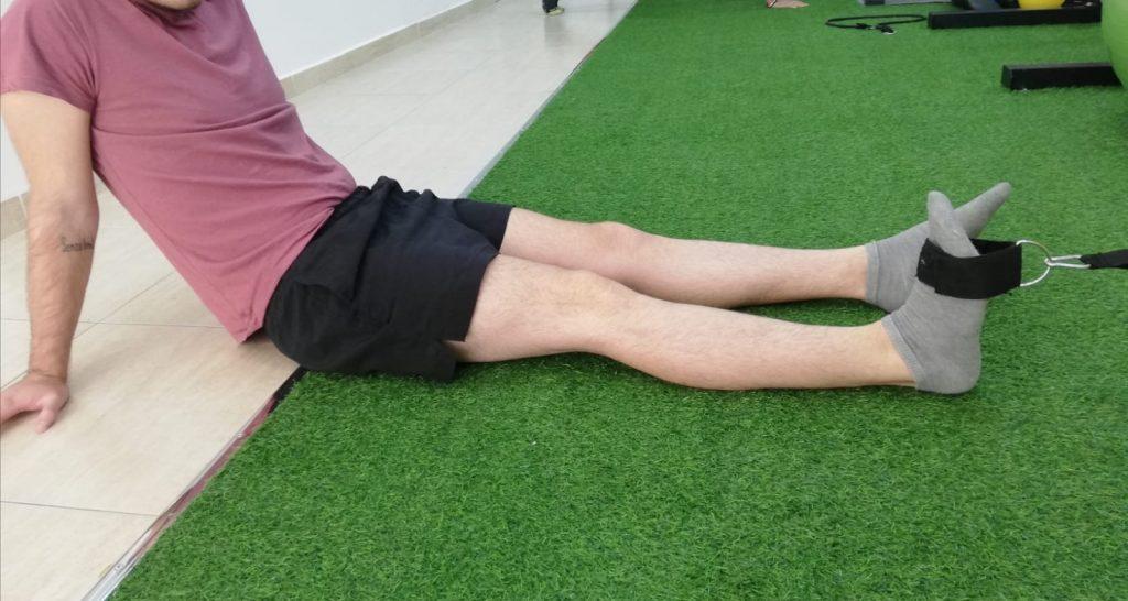 Flexión dorsal de tobillo