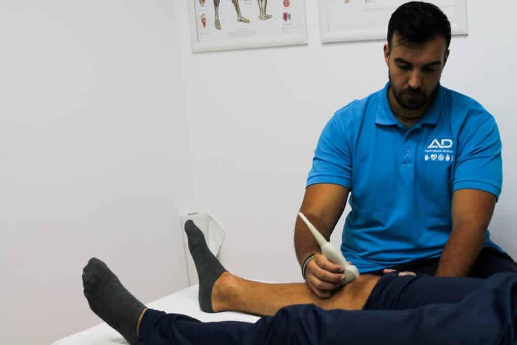 fisioterapia y ecografia