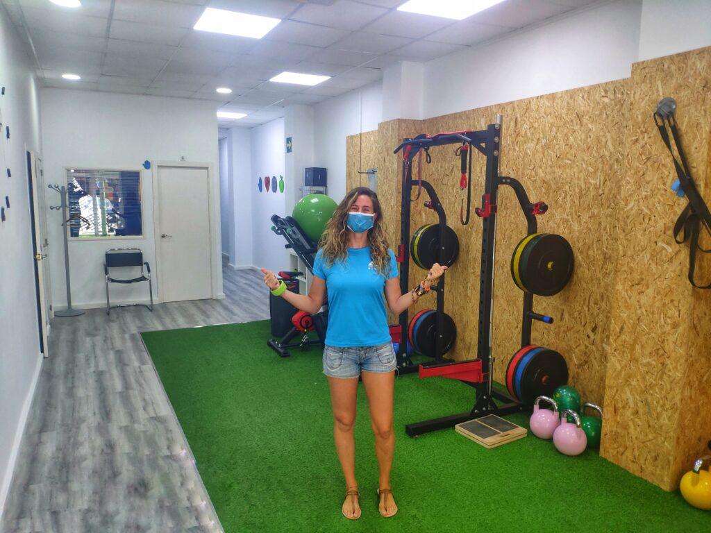 Marta, Campeona de España de Kite Surf