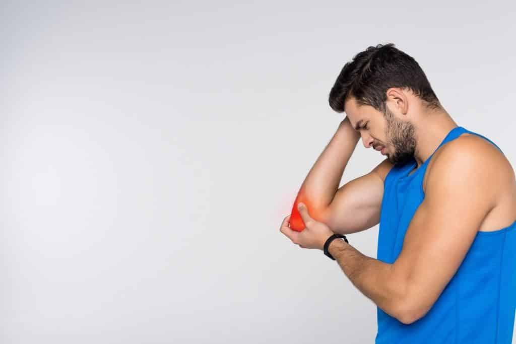 tratamiento fisioterapia esguince codo