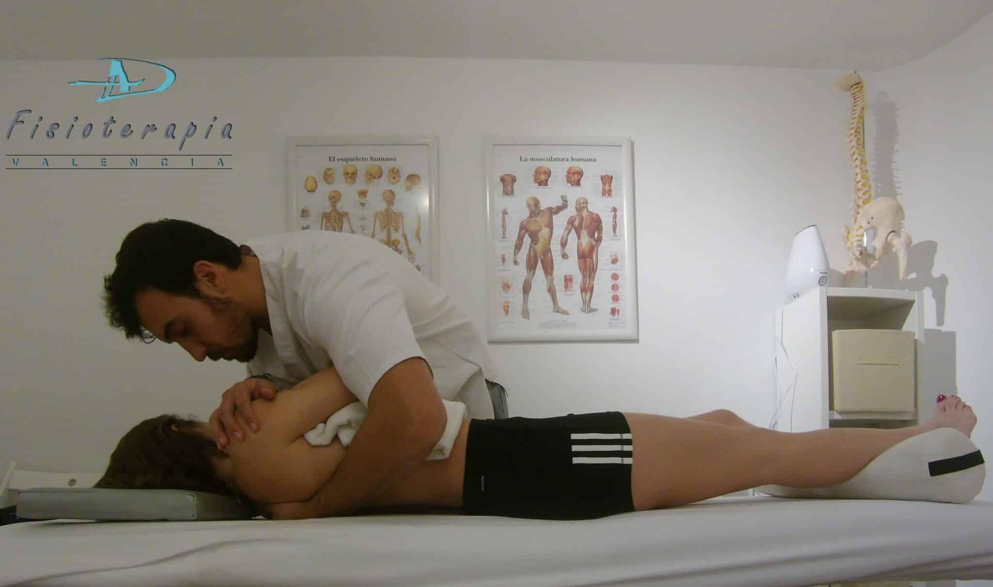 AD Fisioterapia Valencia manipulación